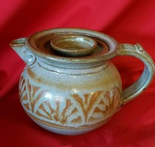 SIGNED Blaisdell HAND CRAFTED STUDIO ART POTTERY Tea or Coffee Pot - $36.62