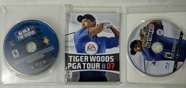 Tiger Woods Pga Tour 07 PS3 Playstation 3 + MLB 10 The Show Video Games - $6.99