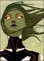 Guardians of the Galaxy Gamora Hair Blowing Art Image Refrigerator Magnet NEW - $3.99