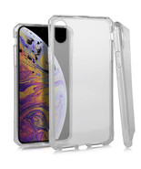 "For iPhone Xs Max 6.5"" Phone Case Slim Clear Deluxe Crystal Skin TPU Cover - $7.31"