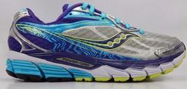 Saucony Ride 8 Women's Running Shoes Size US 7 M (B) EU 38 Silver S10273-1