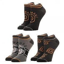 Naruto Youth Ankle Socks 3 Pack - $10.00