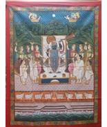 Original hand painted pichwai painting mythological shrinathi art handmade. - $545.28