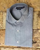 $165 Polo Ralph Lauren Men's Slim Fit LS Shirt, Gray, Size 17 43 - $69.29