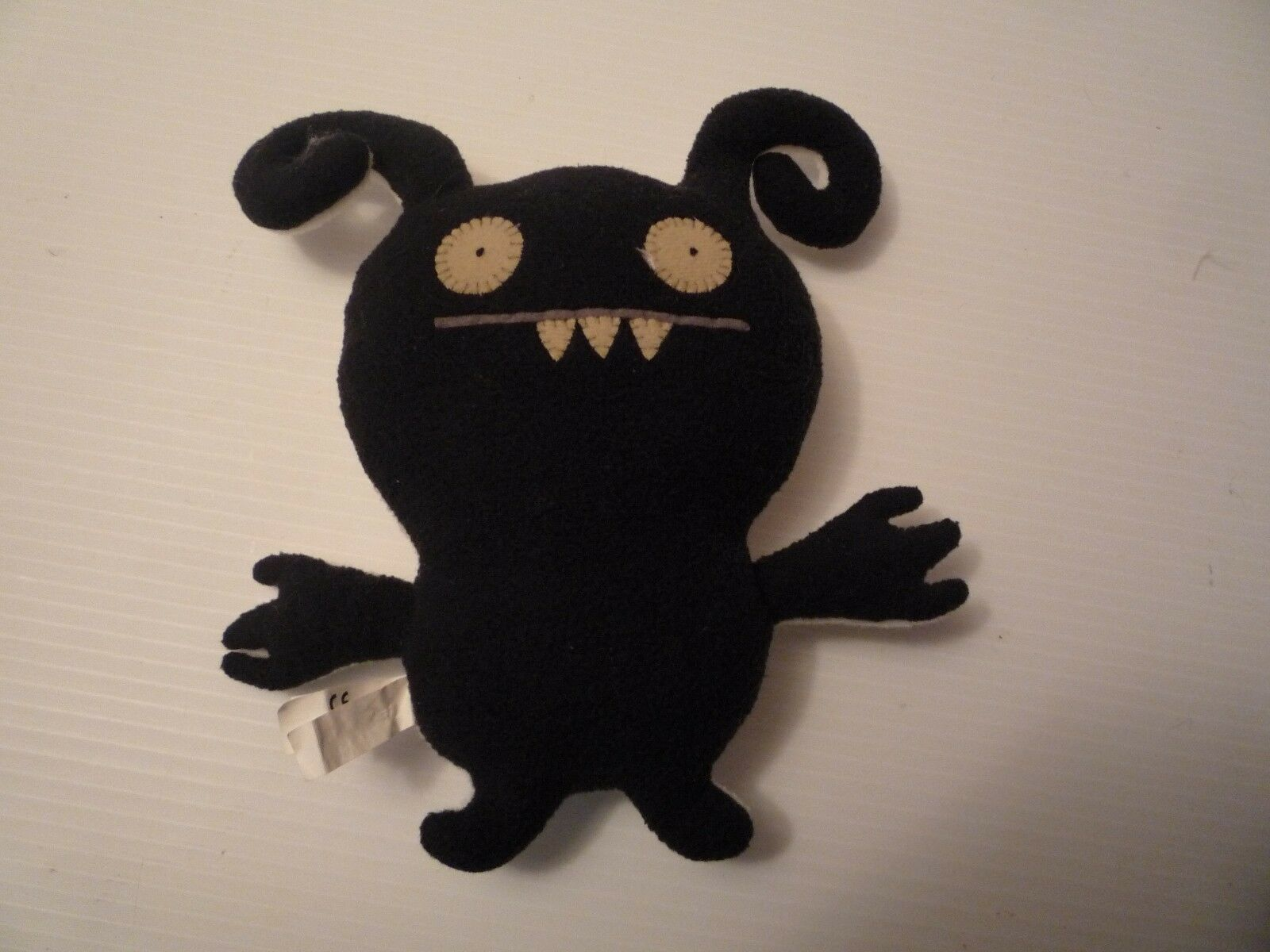 "Primary image for  Uglydoll 9""Turny Burny plush black and white double side 2009"