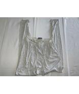 Patagonia Capilene Men's Size Large Base Layer Athletic Pants White Vint... - $20.90