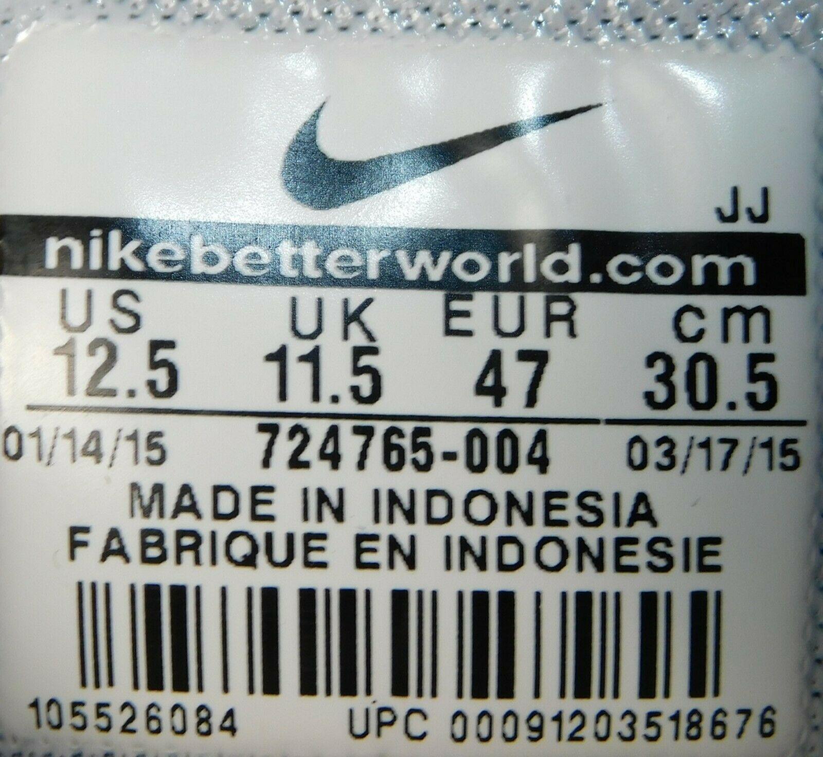 Nike Air Max Tavas SD Size US 12.5 M (D) EU 47 Men's Running Shoes 724765-004