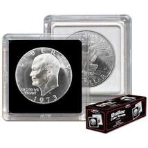 (75) BCW 2X2 COIN SNAP - DOLLAR - BLACK for Premium Long-term Storage Snaps - $39.08