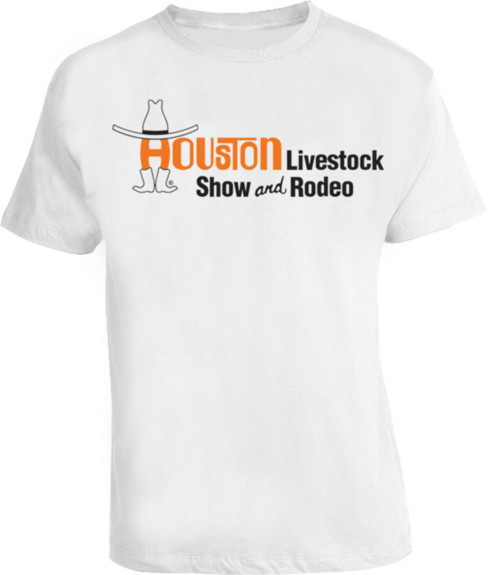 HLSR Houston Livestock Show and Rodeo T-shirt for sale  USA