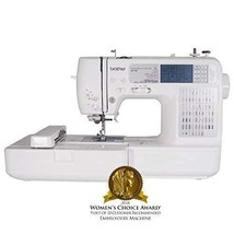 Brother SE400 Combination Computerized Sewing and 4x4 Embroidery Machine... - $529.64