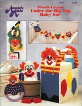 Under the Big Top Baby Set in Plastic Canvas Annie's Attic 87B42 Clowns ... - $4.99