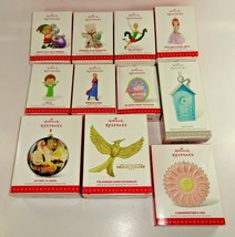 Lot of 11 Hallmark 2015 Keepsake Holiday Christmas Tree Ornaments Auc1 - $37.99