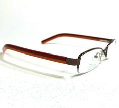 Little League Baseball Eyeglasses Frames SWIFTY RED/ORANGE Rectangular Half Rim - $14.01