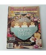Plastic Canvas Magazines Number 33 March/April 1996 - $8.24