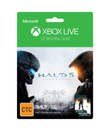 12-Month{1 year} Xbox 360/ONE Live Gold Membership Code +Halo 5 DLC [DIG... - $54.44