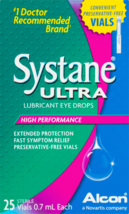 ALCON Systane Ultra Lubricant Eye Drops, 25 Count - $18.69