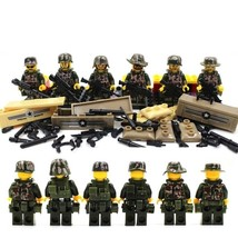 USA Military Army Soldier in Jungle War With Many Weapon Fit Lego Gift C... - $14.99