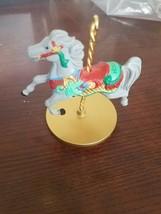 Carousel horse Christmas Tree Ornament no box - $29.58