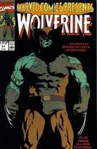 Marvel Comics Presents #51 : Wolverine, Comet Man, Iron Man, & Le Peregrine (Mar - $3.91
