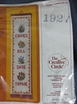 Vintage Creative Circle Savory Seasonings Bellpull 1927 Jan Dalton Compl... - $14.95
