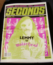 Seconds Motorhead Fishbone Tesla Sepultura annie sprinkle - $15.99