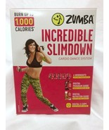 Zumba Incredible Slimdown Weight Loss Dance Workout System DVD & Digital... - $16.50