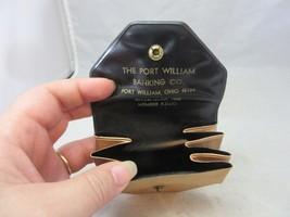 Vintage advertising change purse. Port William Banking Co.  Ohio - $9.99