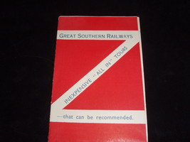 GREAT SOUTHERN RAILWAYS GUIDE TO IRELAND FROM THE 1930'S - $23.13