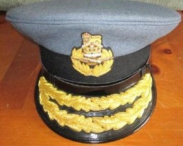 ROYAL AIR FORCE AIR COMMODORE HAT CAP NEW Size 58, 59, 60, 61 - CP MADE - $124.00