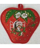 Vintage 1980 Strawberry Shortcake Hot Pad American Greetings Corp New Ol... - $24.70
