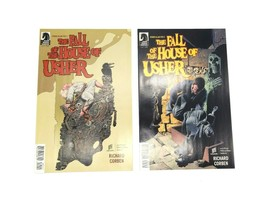 The Fall of the House of Usher #1 & #2 Complete Dark Horse Comic Edgar A... - $14.49