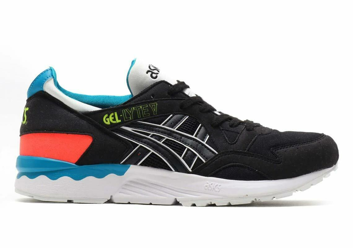 Primary image for Asics Men's GEL-LYTE V Shoes NEW AUTHENTIC Black 1191A202-001
