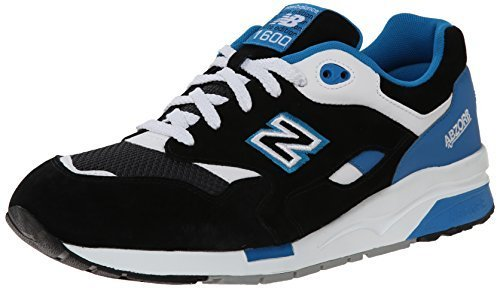 New Balance Men's CM1600 Riders Club Collection Running Shoe, Black/Blue, 8 D US