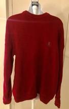 Ralph Lauren CHAPS - Hand Framed Dark Red Size Large Crew Neck Sweater - $14.95