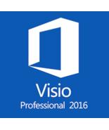 Microsoft Visio Professional 2016 Key & Download - $170,55 MXN