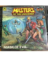 MASTERS OF THE UNIVERSE Mask of Evil (1984) Golden SC - $14.84
