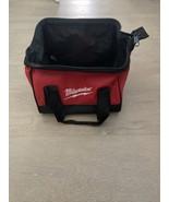 "Milwaukee Heavy Duty Soft Side Contractor Bag 11.5"" x 10"" x 9 P/N 921089029 - $19.99"
