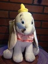 "12"" Sitting Disney Dumbo Plush-Stripe Searsucker Rare-Too Cute - w/Tags - $18.85"