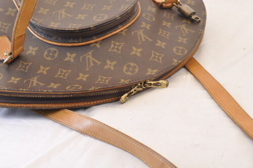 LOUIS VUITTON Monogram Ellipse Shopping Shoulder Bag M51128 LV Auth 7919