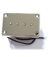 Bass Guitar Pickup Custom Hot 4 String Sidewinder Bass Pickup Chrome - $32.66