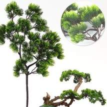 Pine tree Branches Artificial plastic Pinaster Cypress fall Christmas de... - $6.40