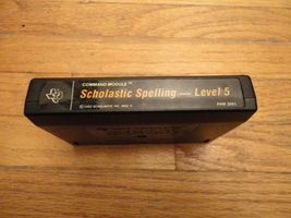 TI 99/4A Scholastic Spelling Level 5 tested educational software cartridge  - $5.99