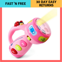 Pink Spin Flashlight Color And Learn Vtech Exclusive Online Toys Kids Le... - $18.56