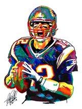"Tom Brady, the New England Patriots, Quarterback, Football, 18""x24"" Art ... - $19.99"