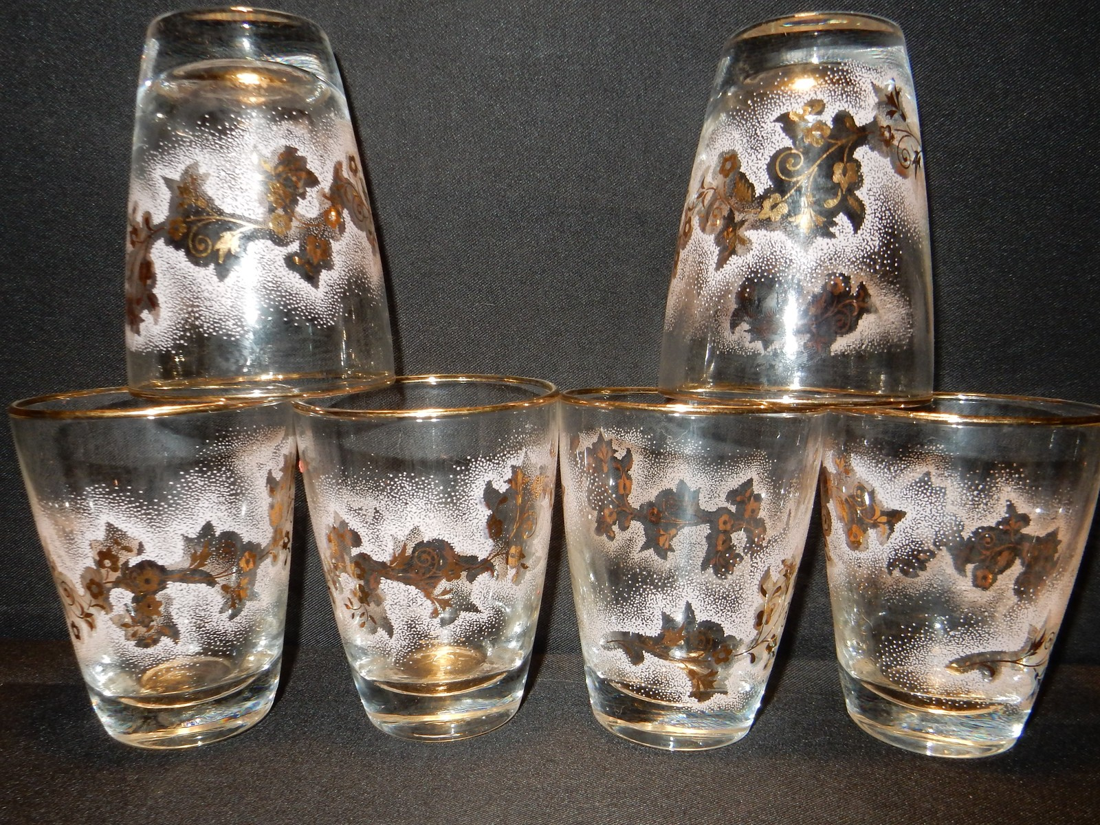 Libbey Juice Glasses Barware Vintage 6 And 50 Similar Items