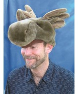 JAAG plush Moose Hat. A fun Christmas gift !! - $17.95