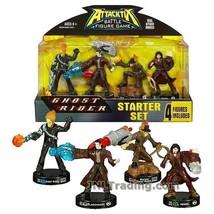 NEW Attacktix 4 Figure Starter Set Marvel Ghost Rider/Blackheart/Western... - $39.99