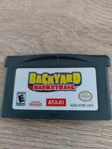 Nintendo Game Boy Advance GBA Backyard Basketball image 2