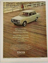 1970 Print Ad The Toyota Corona 4-Door Sedan Car $1970 - $12.24