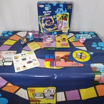 Blues Clues Big Easy Game by Colorforms 1998 Vintage Extras Figurines  - $34.60